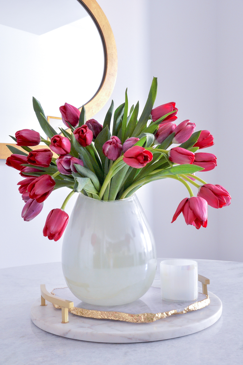 simple easter floral arrangement tips