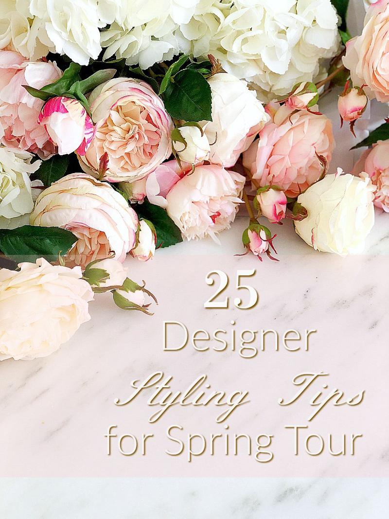 25 designer styling tips for spring