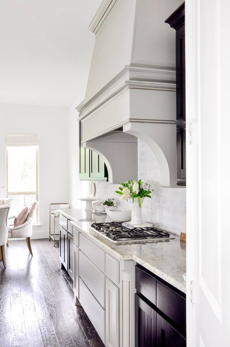 Gorgeous statement kitchen vent hood