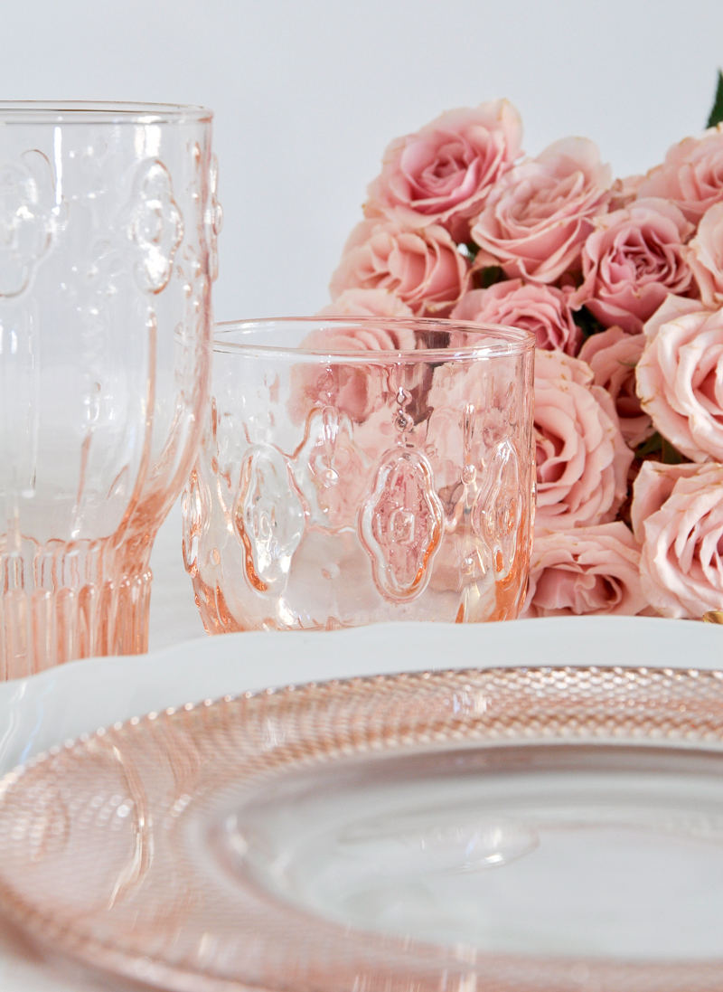 blush dishes