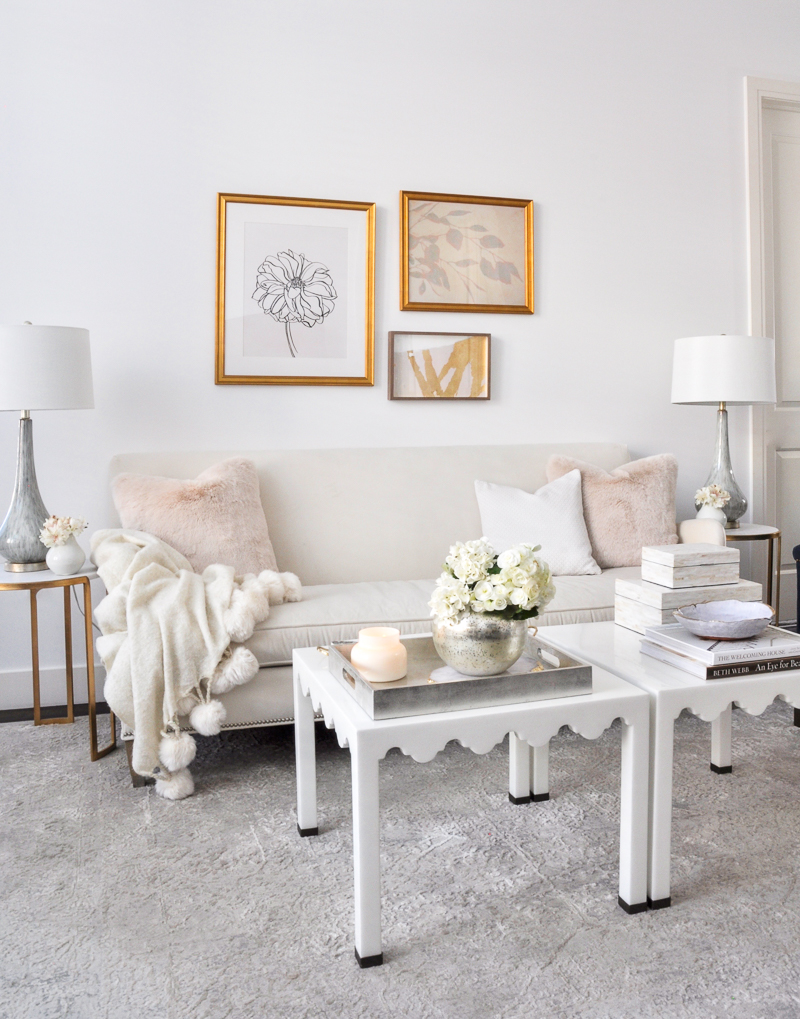 Spring Styling In A Small Space Decor Gold Designs
