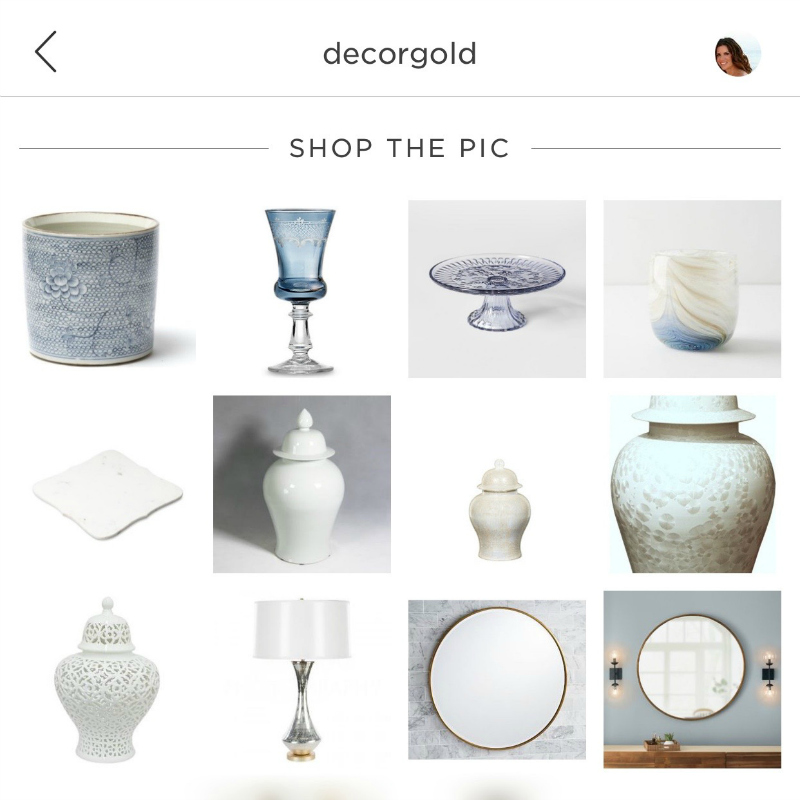 how to shop my instagram
