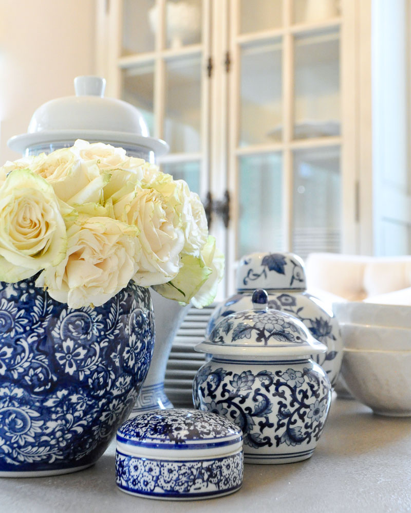 Blue White Jars Vases Decorative Accessories