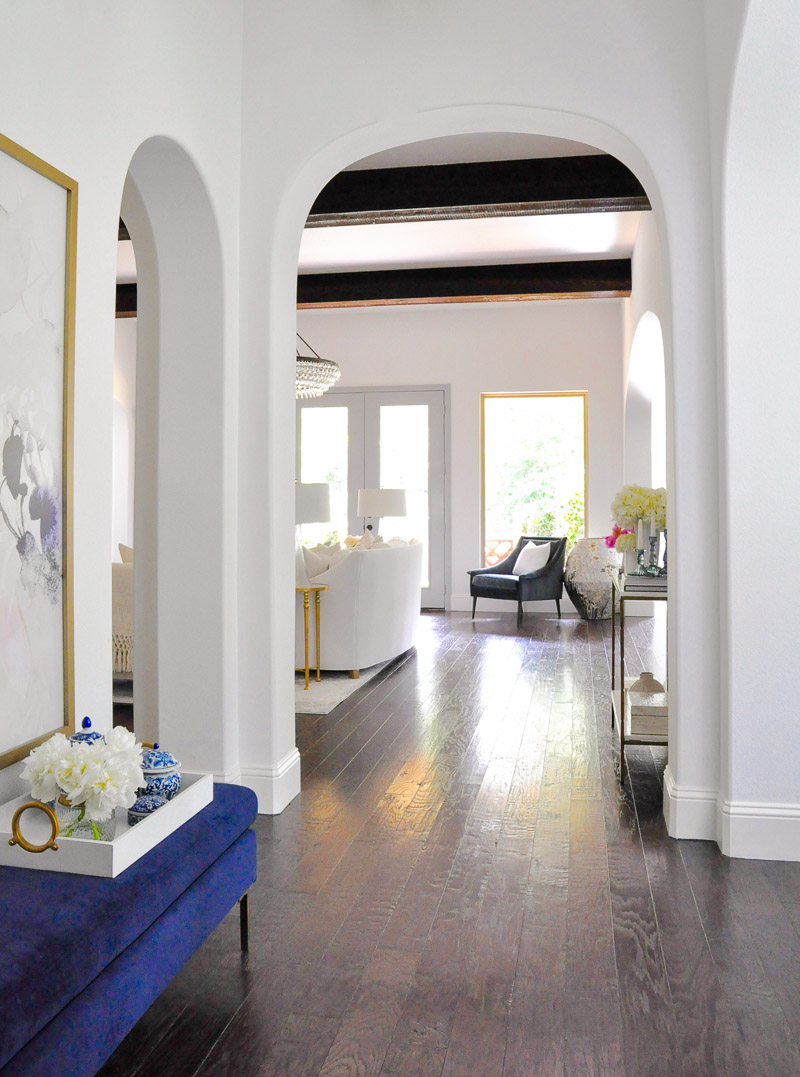 Gorgeous arched entryway