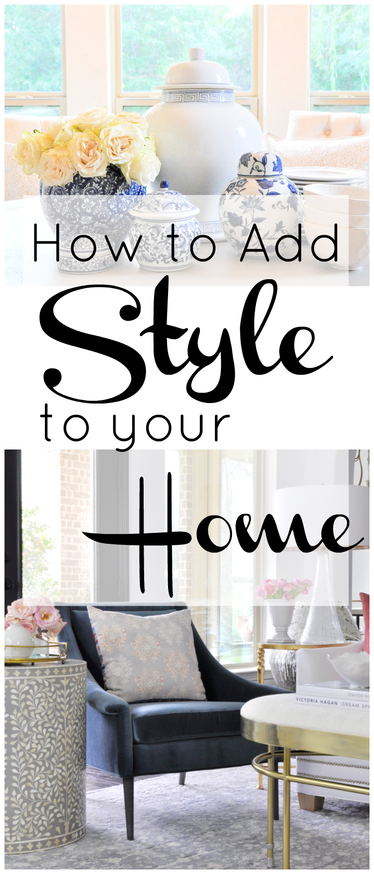 adding style home decor