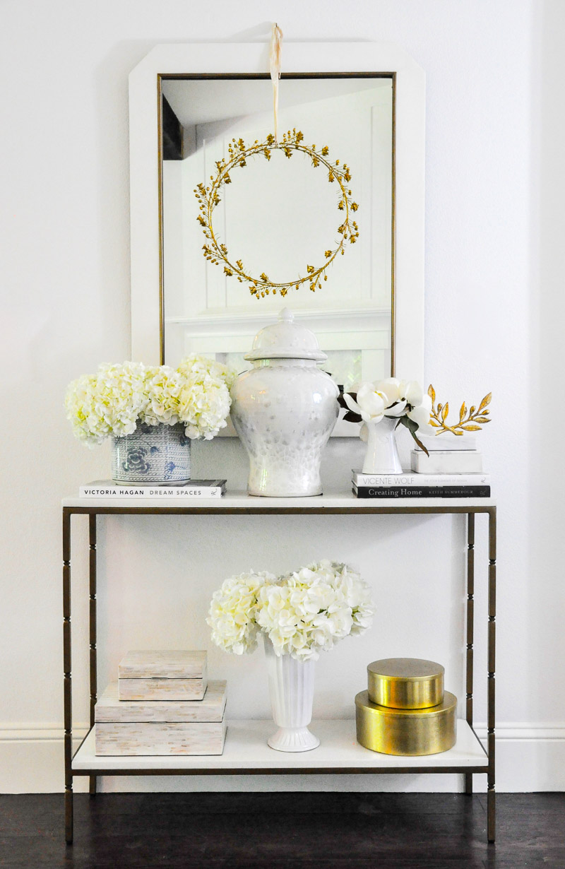 console table decorative home accessories