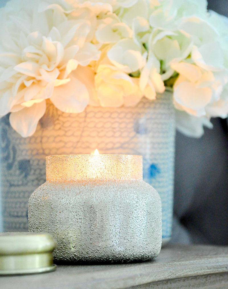 candle nightstand