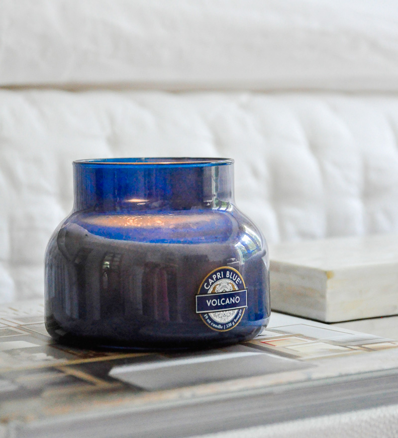 anthropologie volcano candle