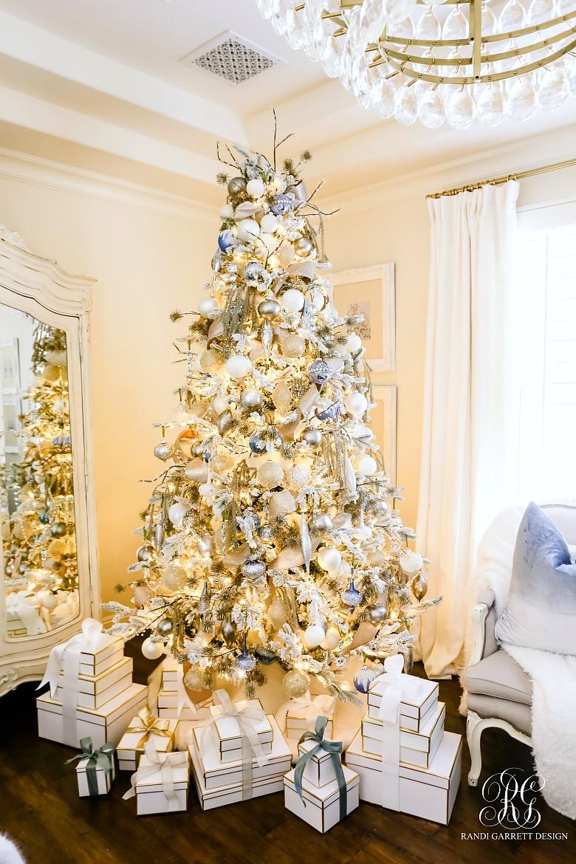 Frontgate Christmas tree Randi Garrett Design