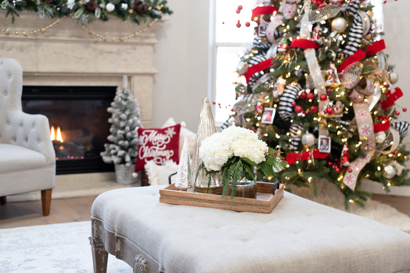 Christmas home tour sara haute humid