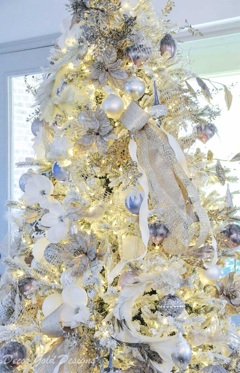 Christmas tree dreamy magical