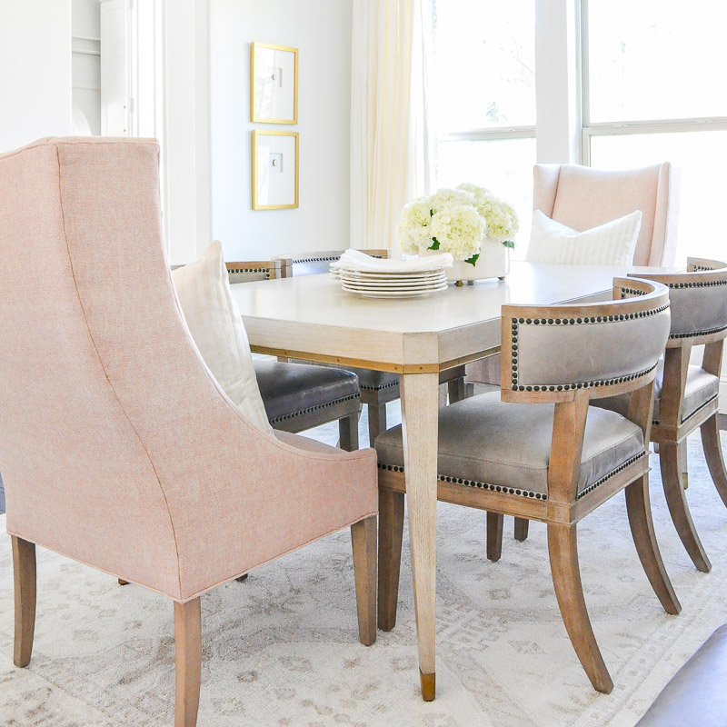Elegant Dining Room Reveal – Transitional + Stylish