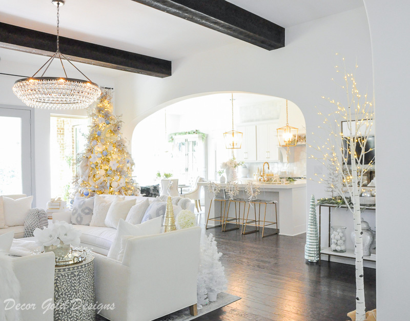 Beautiful chandelier living room gold lanterns kitchen