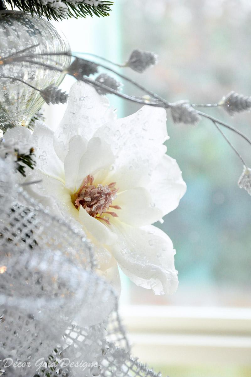 Beautiful Christmas tree magnolia