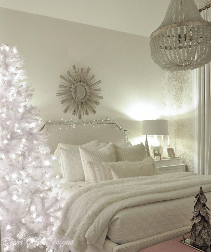 Christmas home night lights bedroom