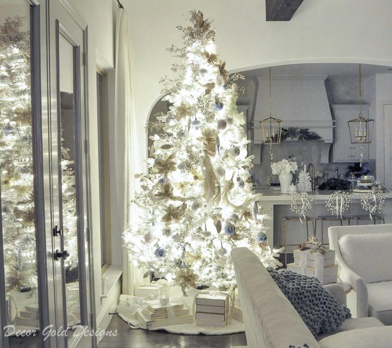 Christmas home night lights tour.