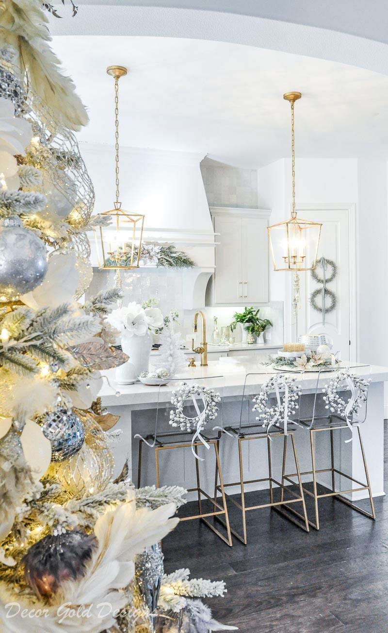 christmas home tour kitchen