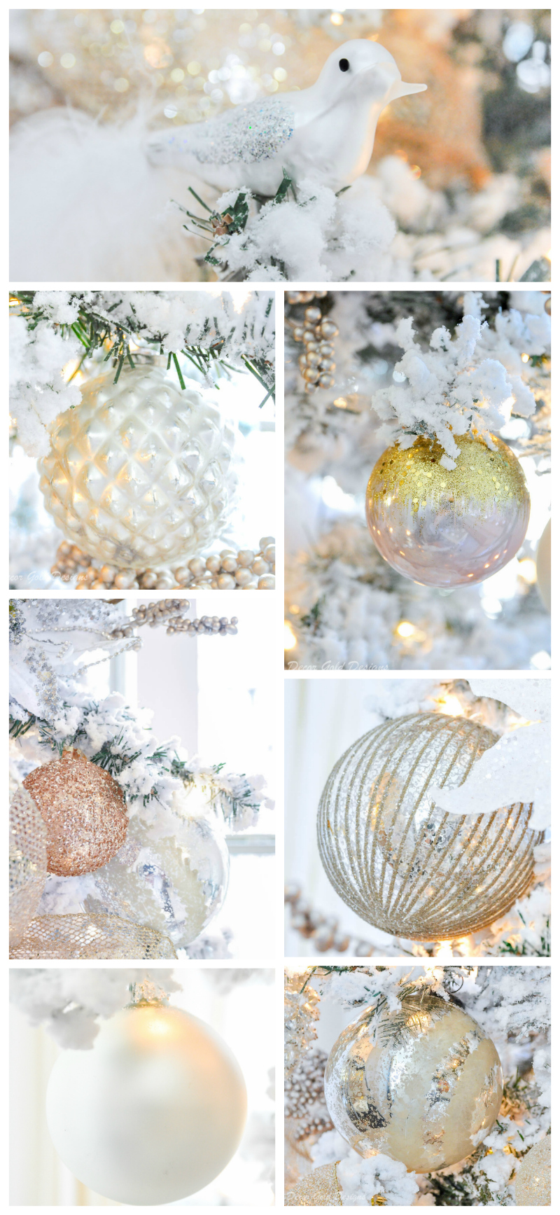 christmas tree decorating ornaments