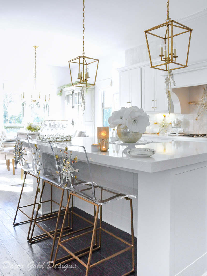 Holiday decorating kitchen ideas new years eve