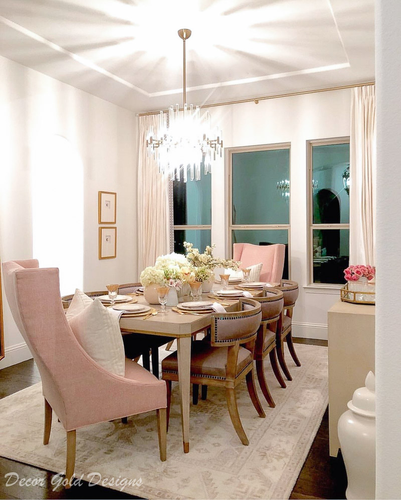 Instagram post dining room top ten 2018