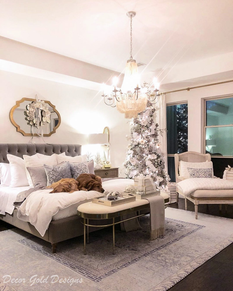 Instagram posts master bedroom dogs