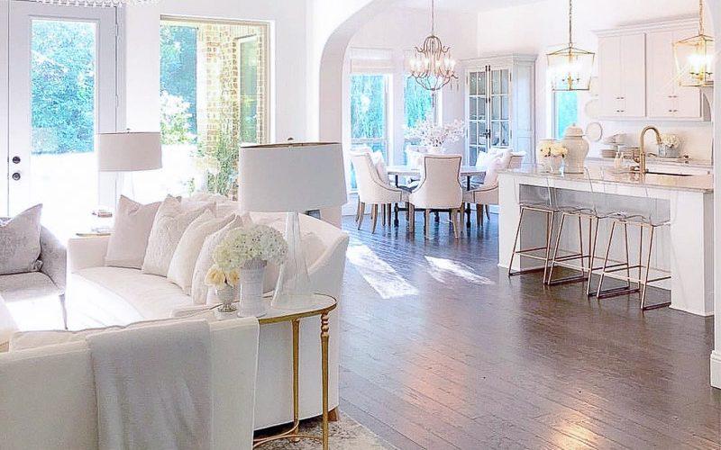 instagram posts open concept living room