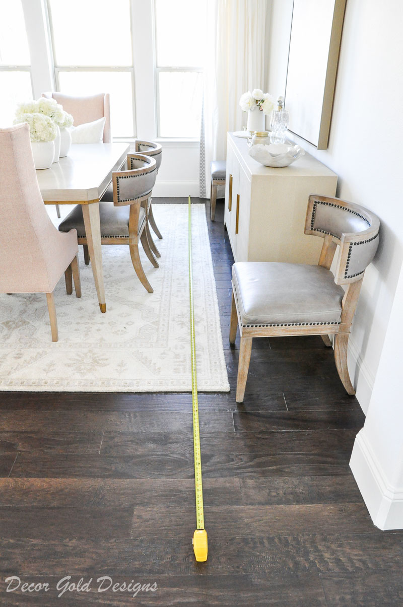 measure dining room measuring tape