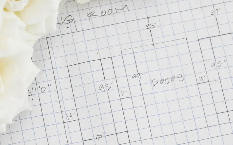 space plan drawing graph paper
