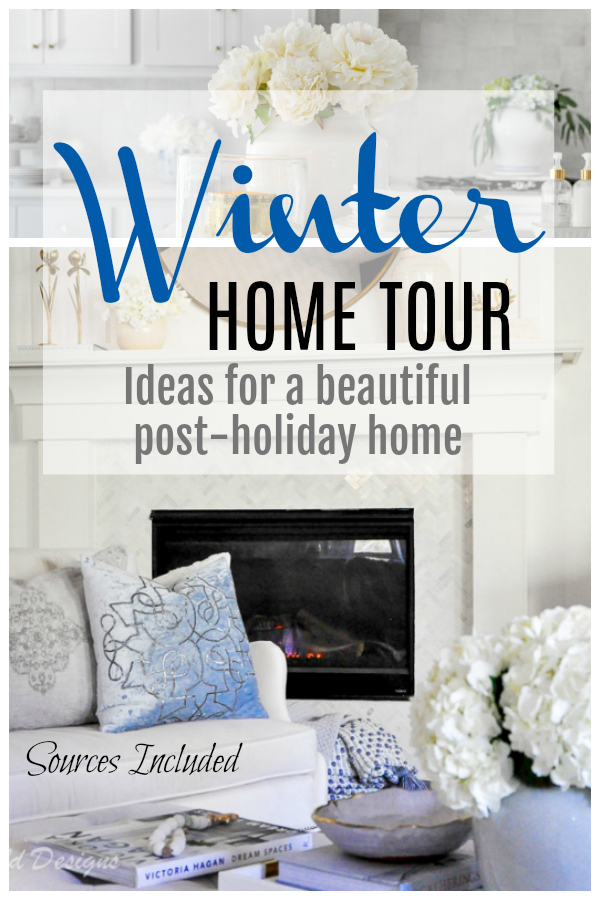 winter home tour