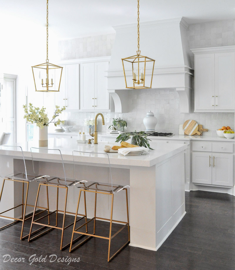 clean white kitchen bright beautiful