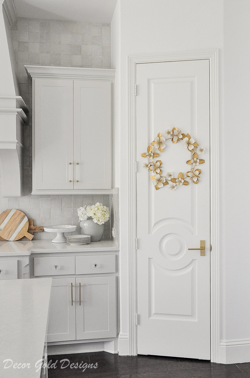 kitchen-beautiful solid pantry door