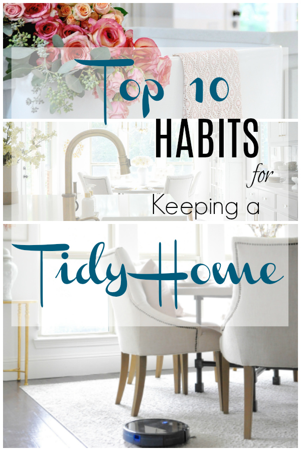 ten simple easy habits tidy home save time