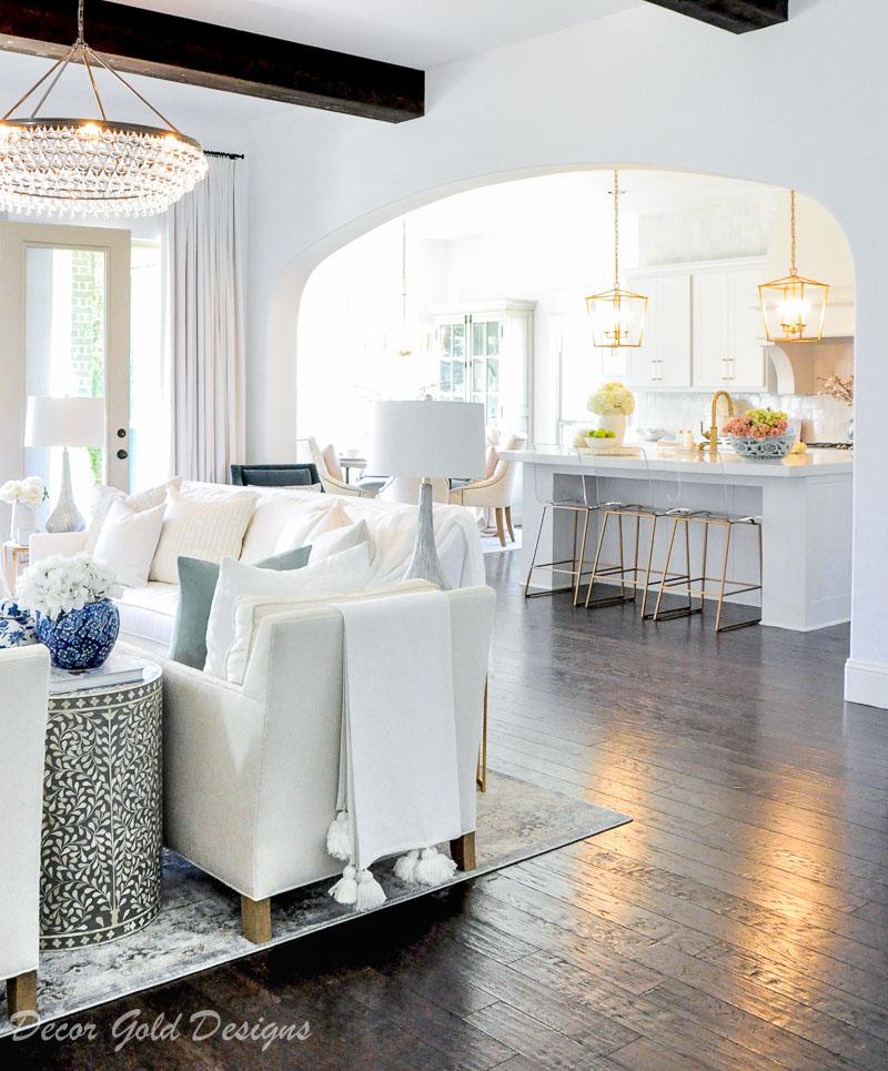 living room tassel throw chair