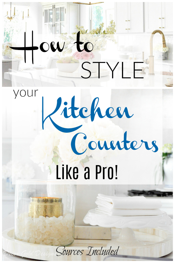 Kitchen Counter Styling Ideas