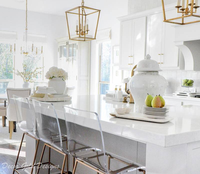 kitchen counter styling ideas temple jar