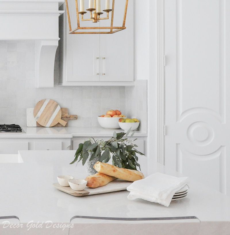 kitchen countertop styling ideas marble wood cheese board