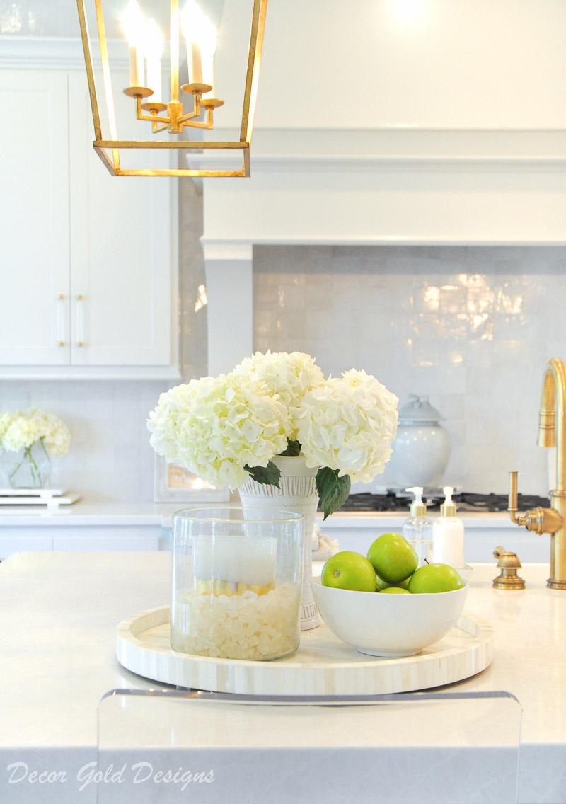 Ideas for Kitchen Counter Styling - Decor Gold Designs on Counter Top Decor  id=59028