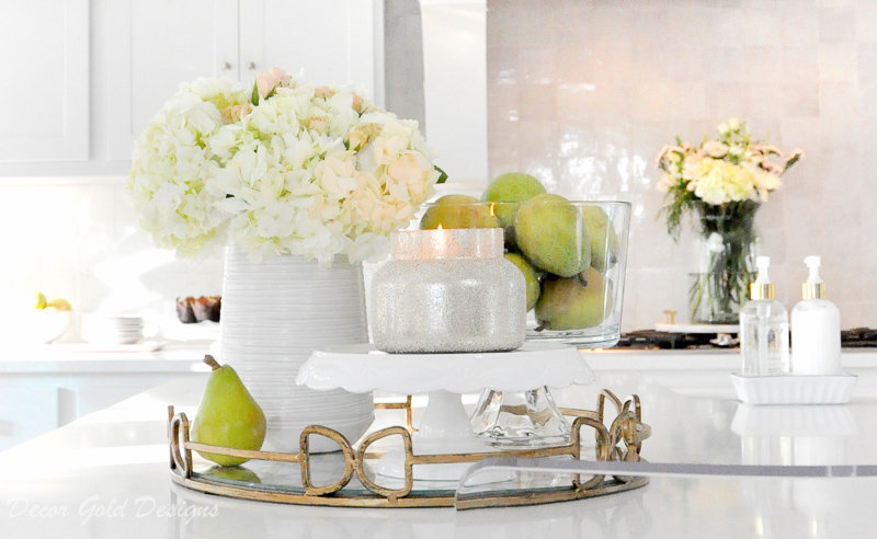 Beautiful kitchen countertop styling ideas Vignette home decor accessories