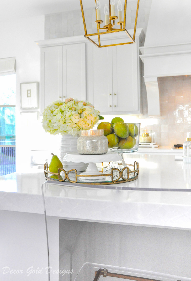 Ideas for Kitchen Counter Styling - Decor Gold Designs on Counter Top Decor  id=34093