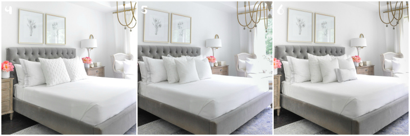 Beautiful bedding tips bed making steps