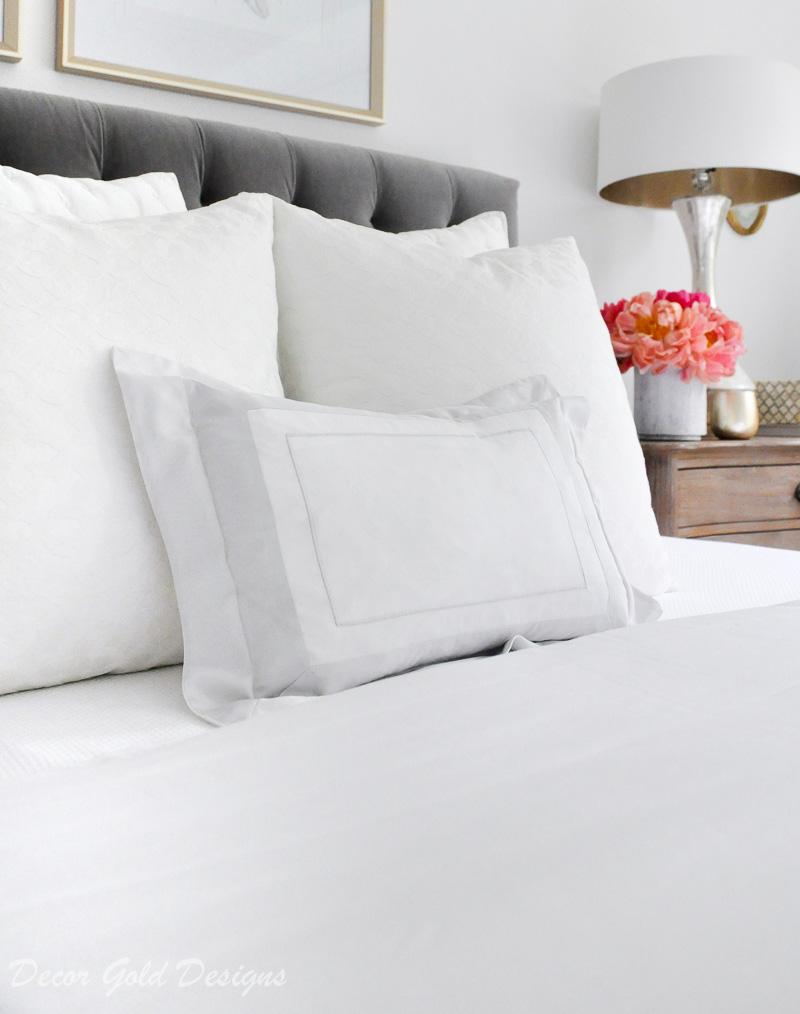 Bedding tips beautiful bed boudior pillow
