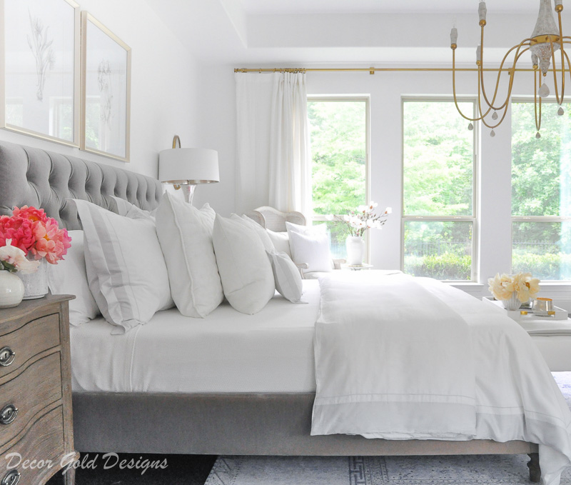 Bedding tips beautiful bed gray white