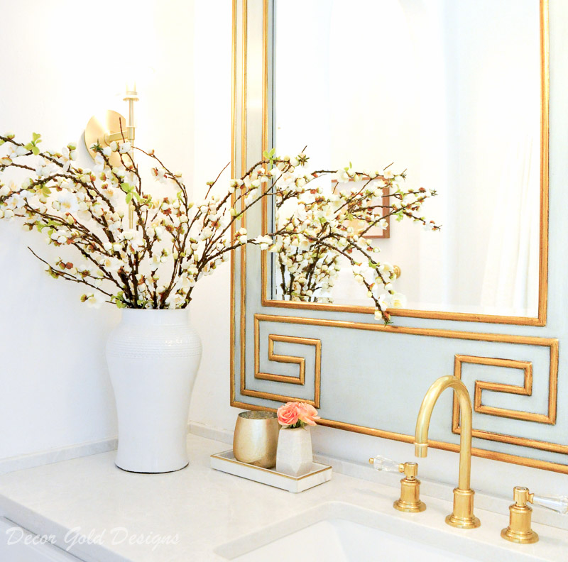 Powder bath accessories California Faucets polished brass
