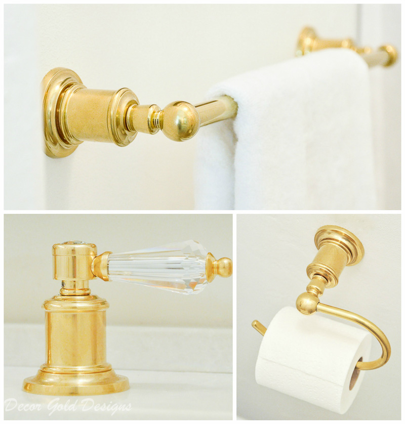 Gorgeous powder bath accessories california faucets polished brass