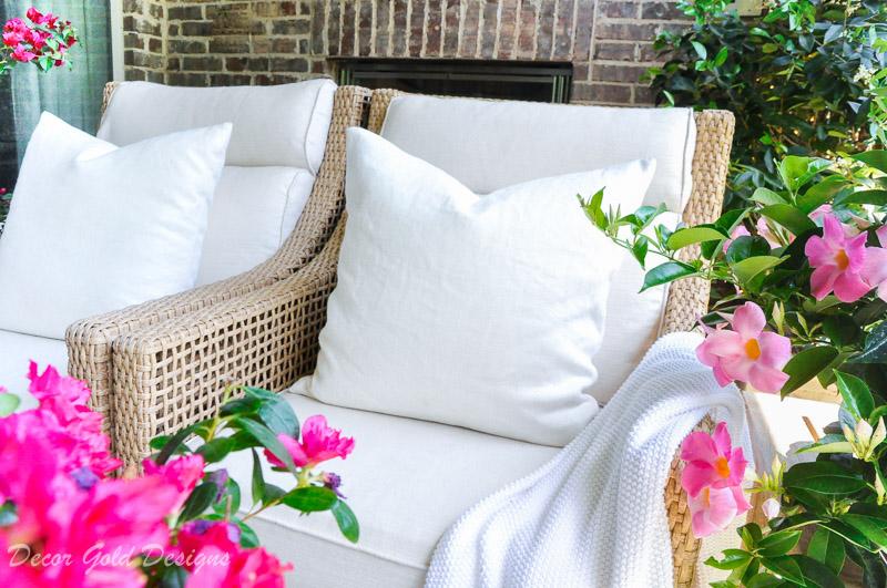 Summer patio reveal
