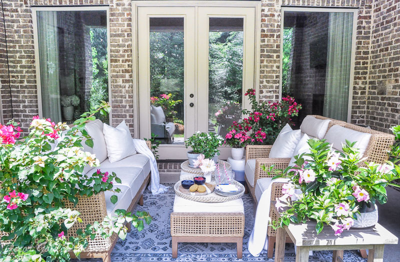 Summer patio reveal