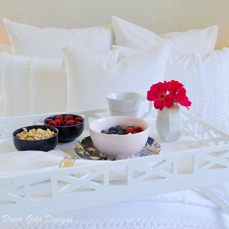 Wow your overnight guests breakfast in bed