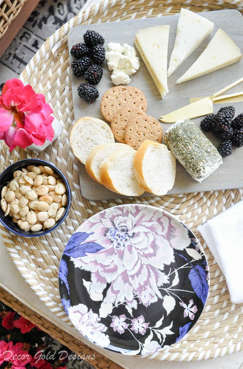 wow your guests outdoor dining summer tray cheese board