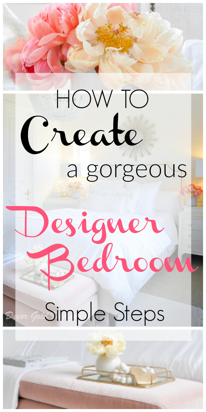 Create designer bedroom