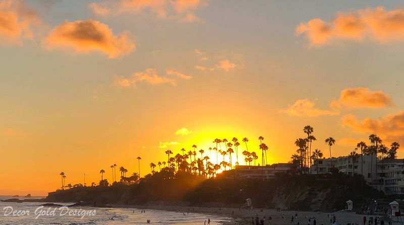 Laguna Beach travel guide beautiful main beach sunset